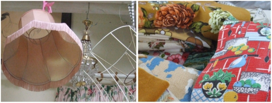 Delphina Sweat Shop Lampshades and Fabrics