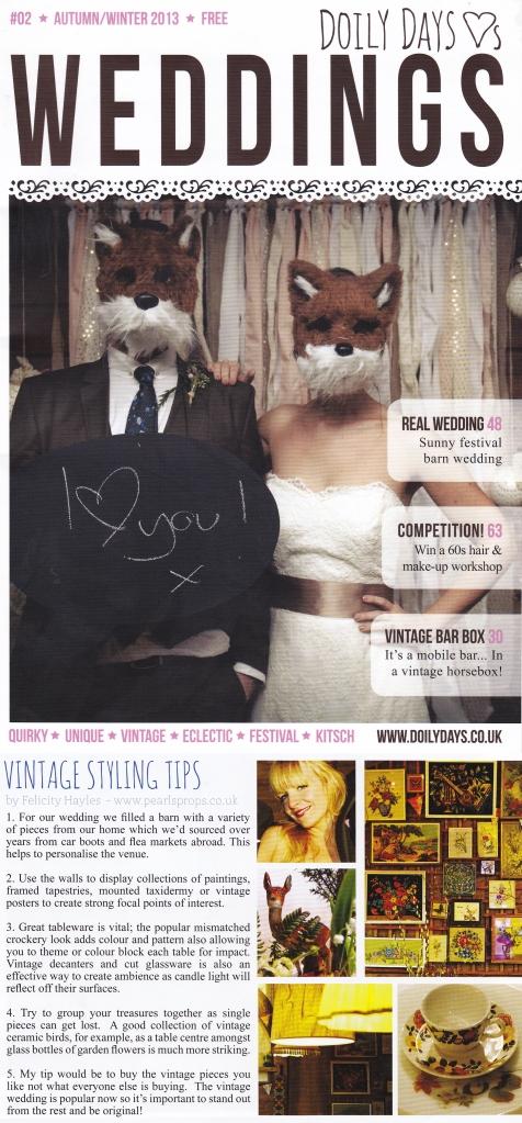 Doily Days - Winter Autumn magazine