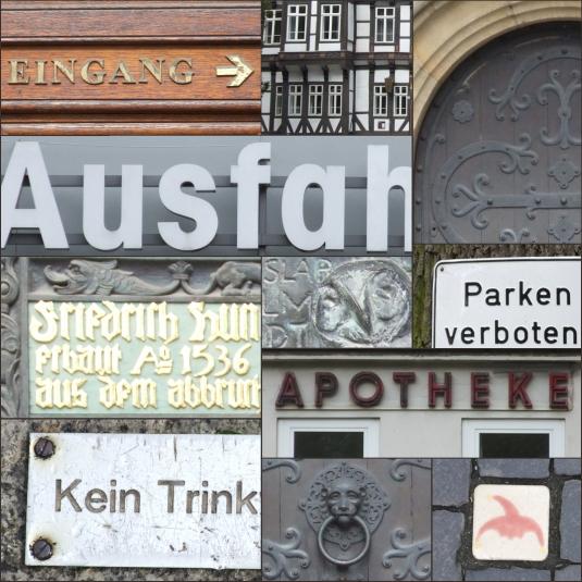 German Typography - Braunschweig